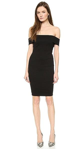 Kupi Mason by Michelle Mason haljinu online i raspordaja za kupiti Mason By Michelle Mason Off Shoulder Dress Black online