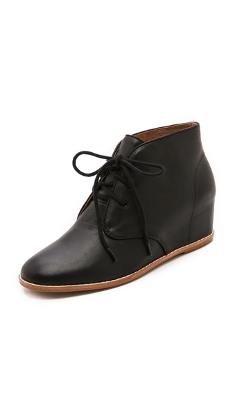 Matiko Sharon Low Wedge Booties