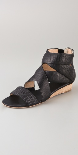 Matt Bernson Delphine Demi Wedge Sandals