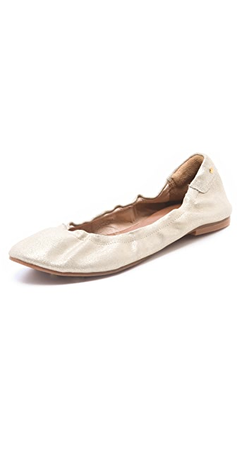 Matt Bernson Waverly Metallic Ballet Flats