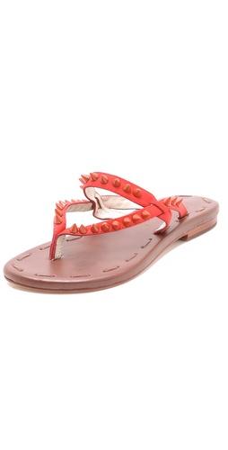 Matt Bernson Love Spike Flat Sandals