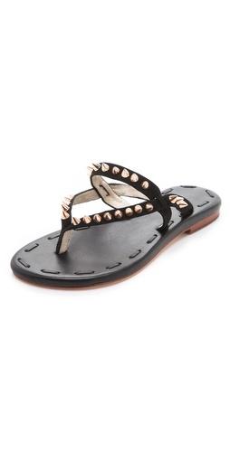 Matt Bernson Love Spike Suede Sandals