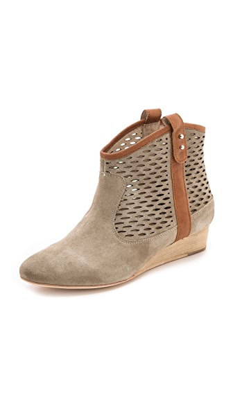 Matt Bernson Ambler Perforated Wedge Booties