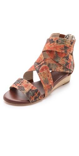 Matt Bernson Delphine Cork Wedge Sandals