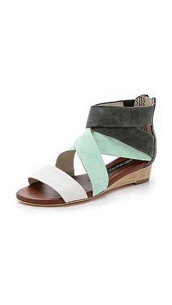 Matt Bernson Dephine Demi Wedge Sandals