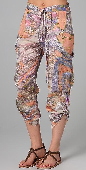 Matthew Williamson Escape Utility Cover Up Pants