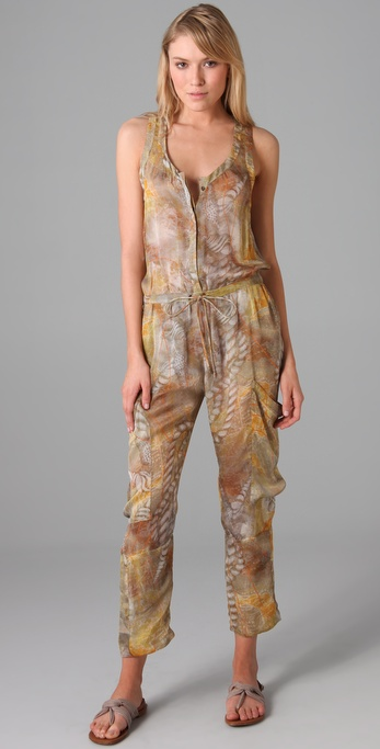 Matthew Williamson Escape Silk Jumpsuit