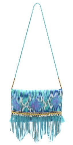 Shop Matthew Williamson Escape Fringe Shoulder Bag and Matthew Williamson Escape online - Accessories,Womens,Handbags,Shoulder_Bag, online Store