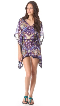 Matthew Williamson Escape Short Kaftan Cover Up