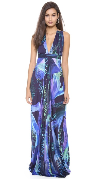 Matthew Williamson Escape Strappy Gown