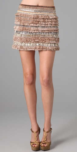 Matthew Williamson Fringed Skirt