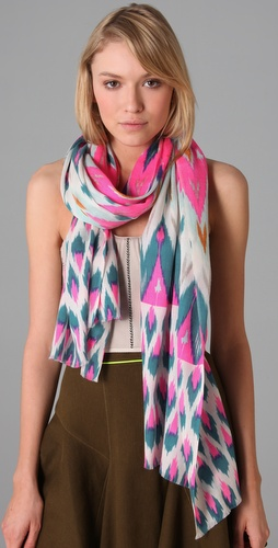 Matthew Williamson Chevron Scarf