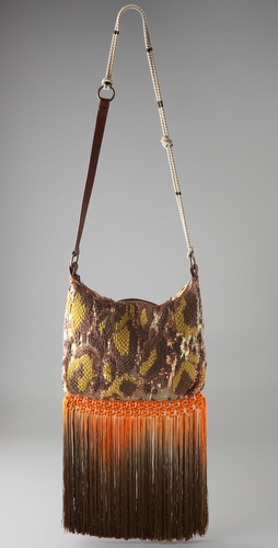 Matthew Williamson Chiffon Weave Bag