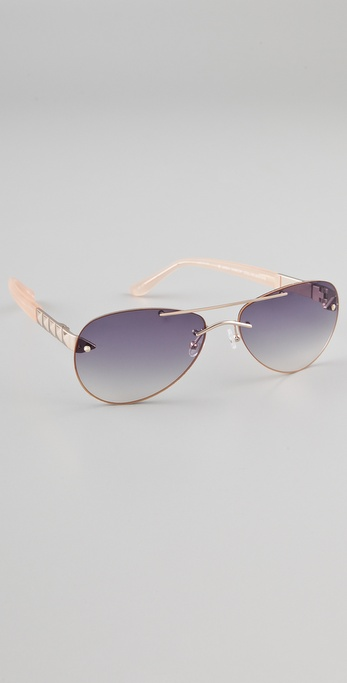 Matthew Williamson Aviator Sunglasses