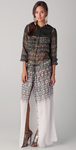 Matthew Williamson Long Shirtdress