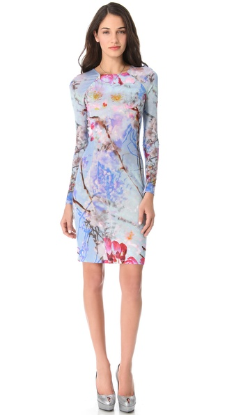Matthew Williamson Short Raglan Sleeve Dress