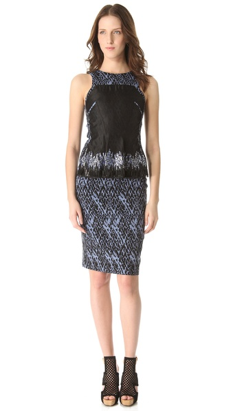 Matthew Williamson Soft Structured Dress
