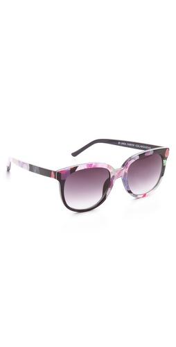 Matthew Williamson Primavera Printed Sunglasses