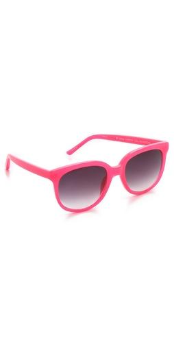 Matthew Williamson Bright Acetate Sunglasses
