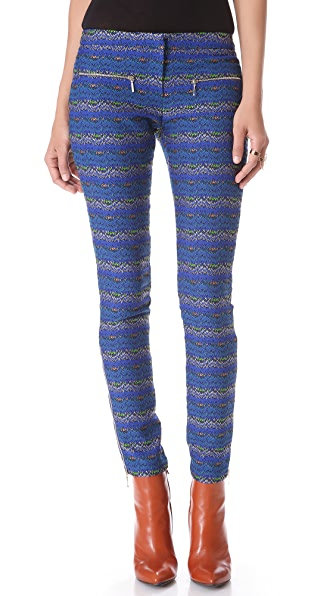 Matthew Williamson Zigzag Skinny Pants