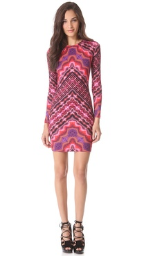 Matthew Williamson Nomadic Stripe Shift Dress