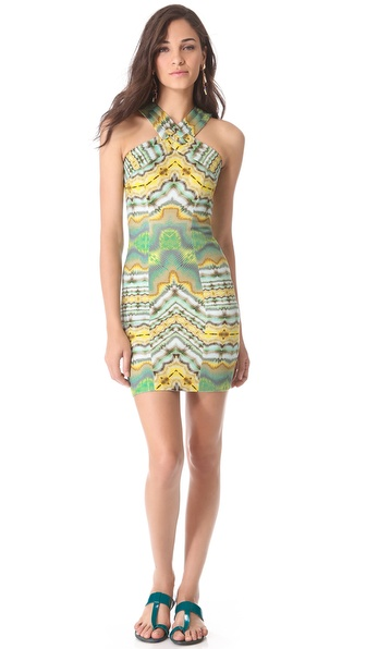 Matthew Williamson Halter Dress