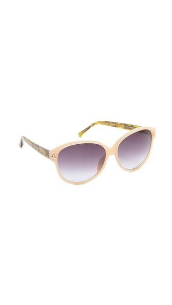 Matthew Williamson Horn Sunglasses