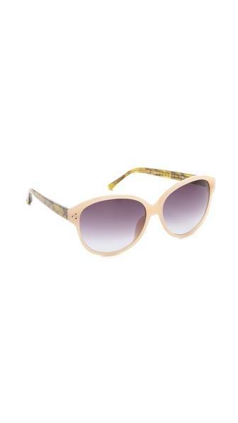 Matthew Williamson Horn Sunglasses