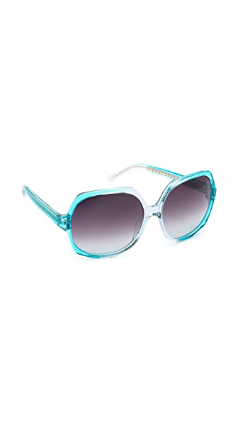 Matthew Williamson Gradient Frame Sunglasses