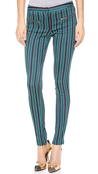 Matthew Williamson Jacquard Zippy Pants
