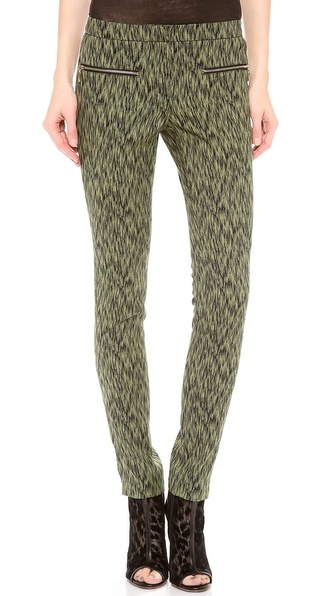 Matthew Williamson Low Rise Zippy Pants
