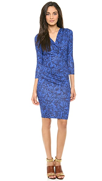Matthew Williamson V Neck Jersey Dress