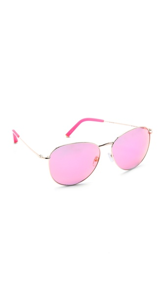 Matthew Williamson Revo Mirrored Sunglasses