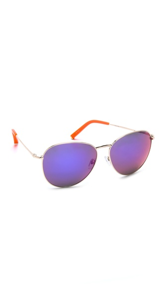 Matthew Williamson Mirrored Revo Sunglasses