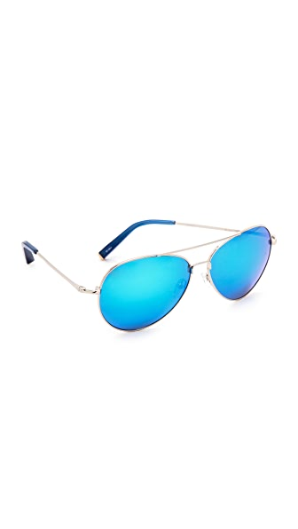 Matthew Williamson Mirrored Aviator Sunglasses
