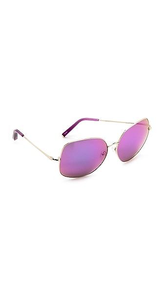 Matthew Williamson Glam Mirrored Sunglasses