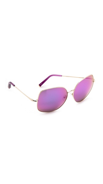Matthew Williamson Glam Mirrored Sunglasses