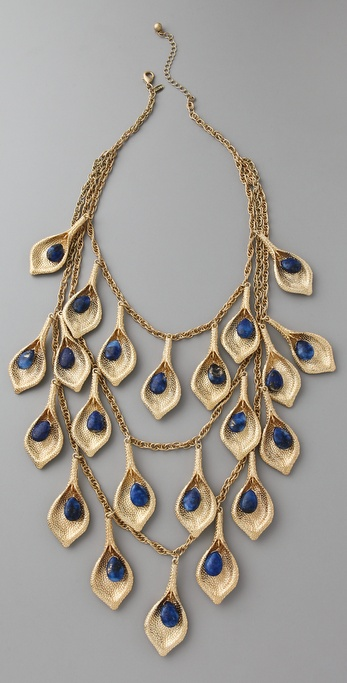 Maven Lapis Petal Necklace