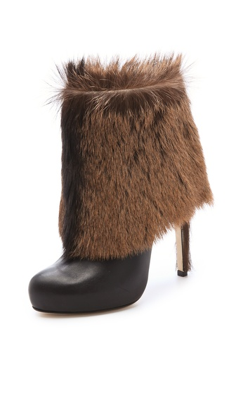 Max Kibardin Avalon Fur Booties