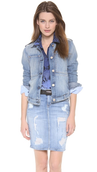 McGuire Denim Work Wear Jean Jacket