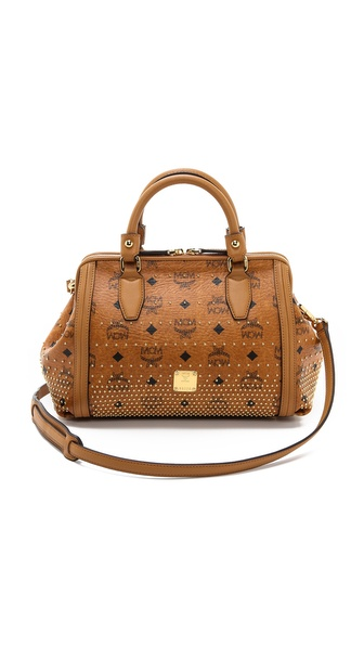 MCM Small Boston Bag
