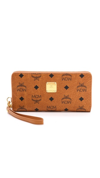 MCM Large Zipped Wallet