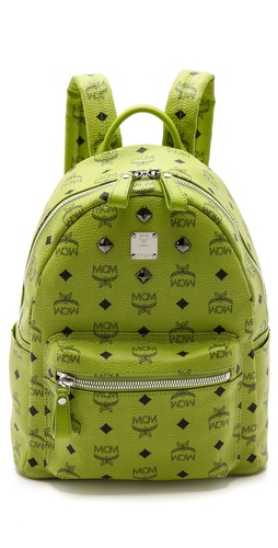 MCM Stark Sprinkle Stud Small Backpack at Shopbop / East Dane