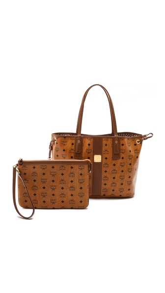 MCM Liz Reversible Medium Shopper