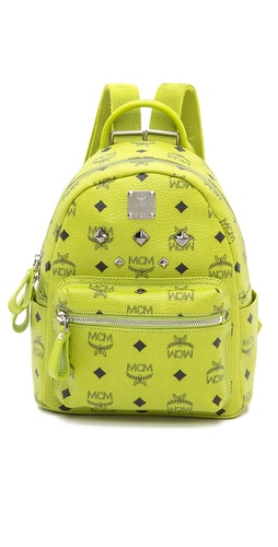 MCM Stark Sprinkle Stud Mini Backpack at Shopbop / East Dane