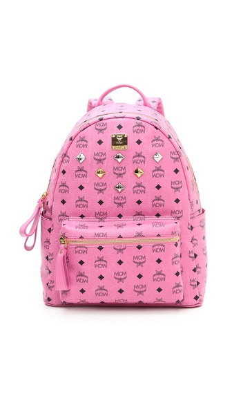 MCM Stark Sprinkle Stud Medium Backpack