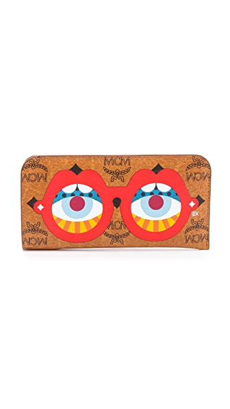 MCM Craig & Karl Limited Edition Sunglass Print Glasses Case