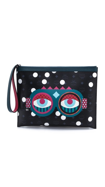 MCM Craig & Karl Large Pouch