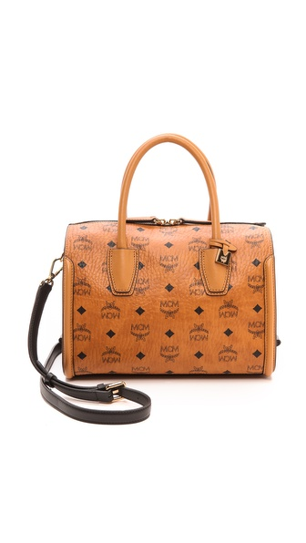 MCM Boston Satchel