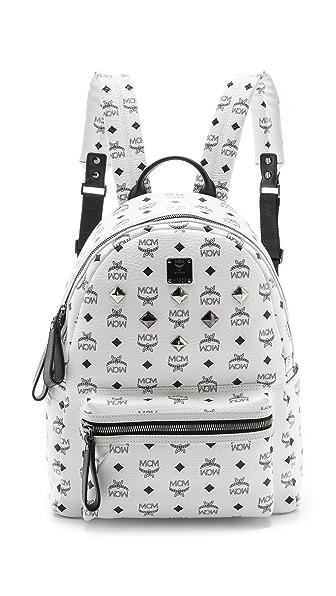 MCM Stark Medium Sprinkle Stud Backpack